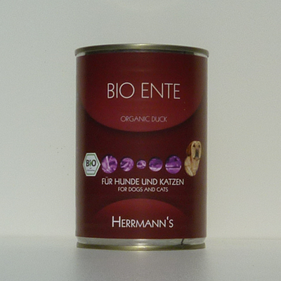 Herrmann's Bio Ente (Reinfleischdose)