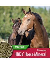 HBD`s® HorseMineral pelletiert Melasse-/ Apfeltresterfrei